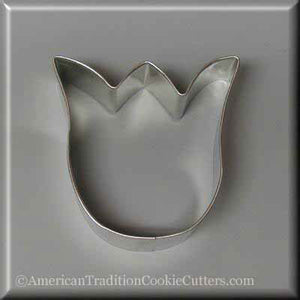 "3"" Tulip  Metal Cookie Cutter - American Tradition Cookie Cutters"