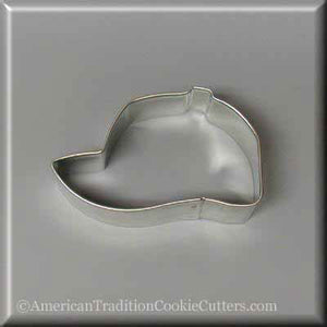 "3"" Baseball Cap Metal Cookie Cutter - American Tradition Cookie Cutters"
