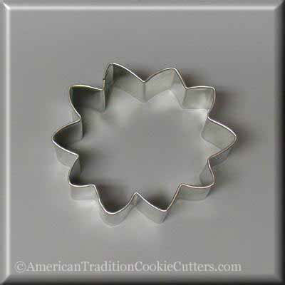 "3"" Sunflower Metal Cookie Cutters"
