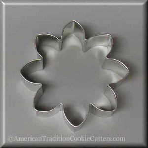 "3.5"" Daisy Flower Metal Cookie Cutter - American Tradition Cookie Cutters"