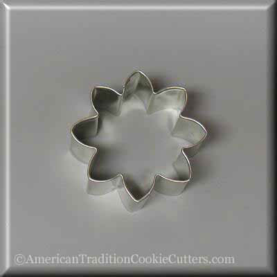 "2.25"" Mini Daisy Flower Metal Cookie Cutter"