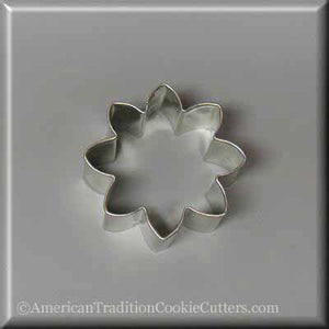 "2.25"" Mini Daisy Flower Metal Cookie Cutter - American Tradition Cookie Cutters"