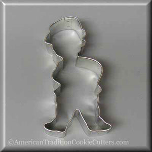 "4"" Leprechaun Metal Cookie Cutter-americantraditioncookiecutters"