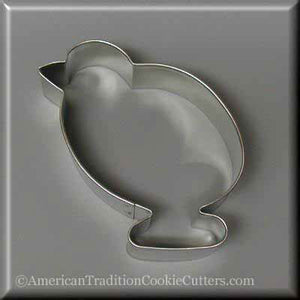 "4"" Chick Metal Cookie Cutter"
