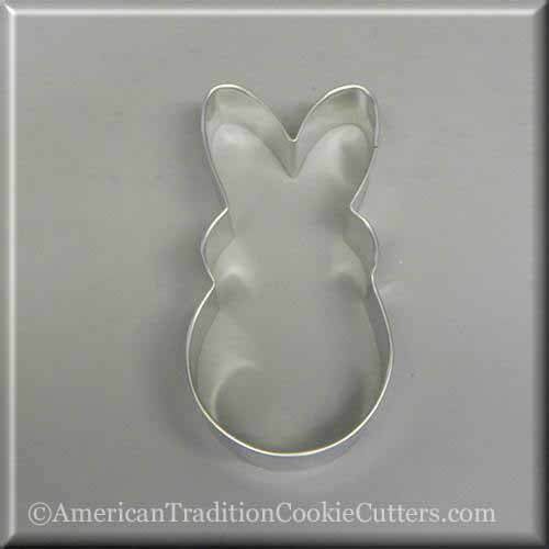 "3.75"" Easter Bunny Rabbit Metal Cookie Cutter - American Tradition Cookie Cutters"