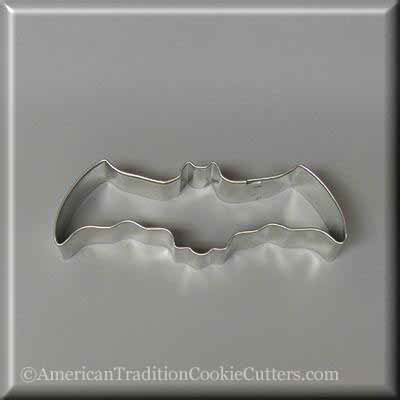 "4.5"" Flying Bat Metal Cookie Cutter"