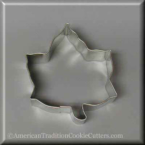 "3.5"" Ivy Leaf Metal Cookie Cutter - American Tradition Cookie Cutters"