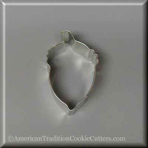"2.75"" Acorn Metal Cookie Cutter - American Tradition Cookie Cutters"