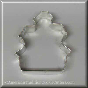 "3.5"" Haunted House Metal Cookie Cutter - American Tradition Cookie Cutters"