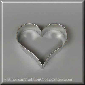 "3"" Heart Metal Cookie Cutter"