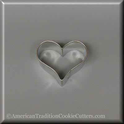 "1.75"" Mini Heart  Metal Cookie Cutter"