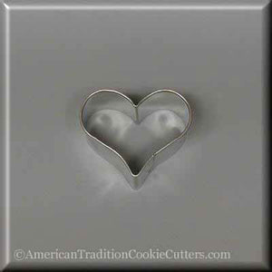 "1.75"" Mini Heart  Metal Cookie Cutter - American Tradition Cookie Cutters"