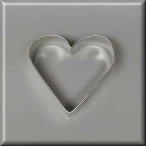 "2.75"" Heart  Metal Cookie Cutter"