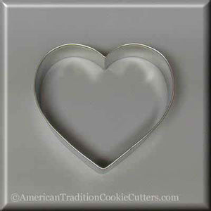 "4"" Heart  Metal Cookie Cutter-americantraditioncookiecutters"