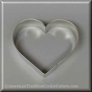 "3"" Heart Metal Cookie Cutter - American Tradition Cookie Cutters"