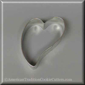 "3"" Folk Heart Metal Cookie Cutter"