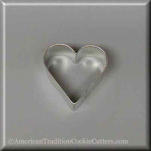 "2"" Heart Metal Cookie Cutter - American Tradition Cookie Cutters"