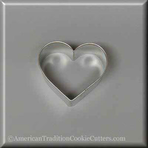 "2.25"" Heart Metal Cookie Cutter - American Tradition Cookie Cutters"