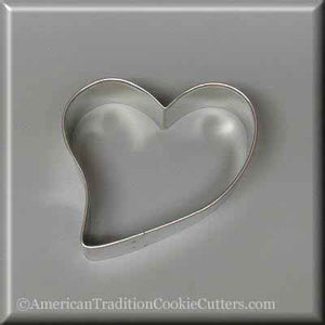 "3.5"" Heart Metal Cookie Cutter - American Tradition Cookie Cutters"