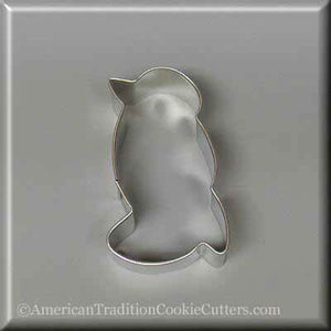"3"" Penguin Metal Cookie Cutter - American Tradition Cookie Cutters"