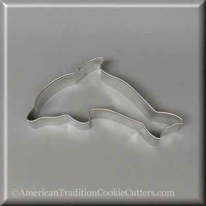 "4.5"" Dolphin Metal Cookie Cutter"