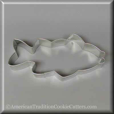 "5"" Fish Metal Cookie Cutter"