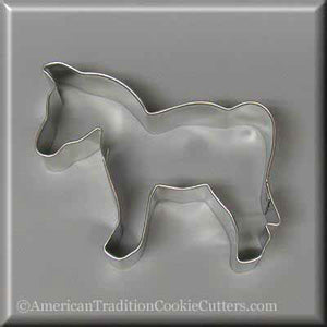"4"" Horse Metal Cookie Cutter"