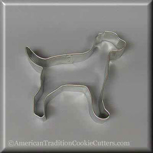 "4.5 ""Labrador Retriever Metalowy cookie-cutter-americantraditioncookiecutters"