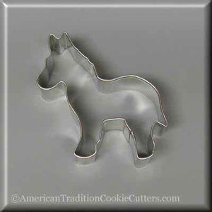 "3.75"" Donkey Metal Cookie Cutter - American Tradition Cookie Cutters"