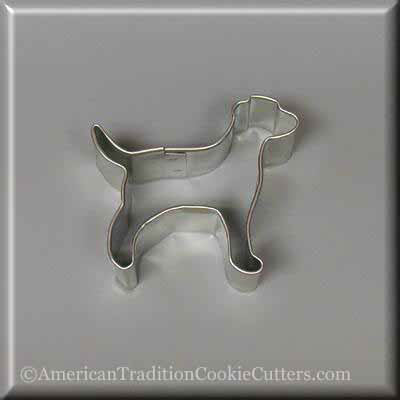 "2.25"" Mini Labrador Retriever Metal Cookie Cutter"