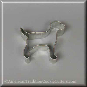 "2.25 ""Cutter μίνι λαμπραντόρ Retriever Metal Cookie - Αμερικανική Cuttery cookie παράδοσης"