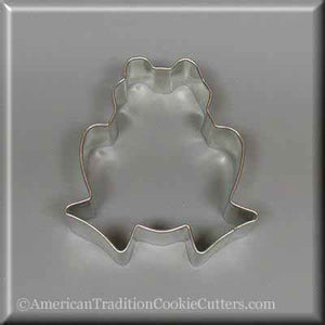"3"" Frog Metal Cookie Cutter - American Tradition Cookie Cutters"