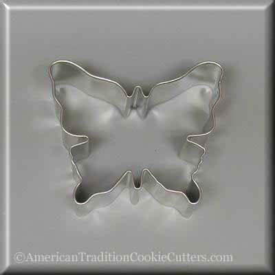 "3"" Butterfly Metal Cookie Cutter - American Tradition Cookie Cutters"