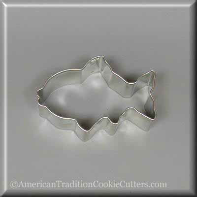 "3"" Fish Metal Cookie Cutter"