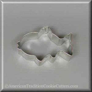 "3"" Fish Metal Cookie Cutter - American Tradition Cookie Cutters"