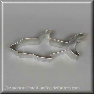 "4"" Shark Metal Cookie Cutter-americantraditioncookiecutters"