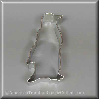 "3.25"" Penguin Metal Cookie Cutter"