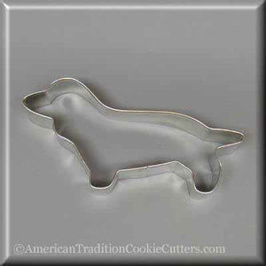 "5"" Primitive Dachshund Metal Cookie Cutter-americantraditioncookiecutters"