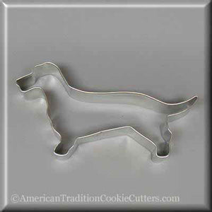 "5.5"" Dachshund Metal Cookie Cutter-americantraditioncookiecutters"