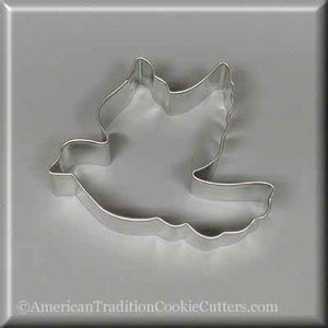 "3.75"" Dove Metal Cookie Cutter - American Tradition Cookie Cutters"