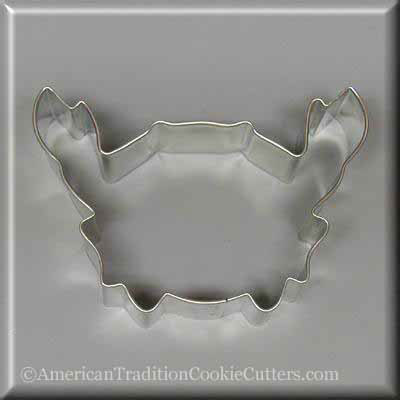 "4"" Crab Metal Cookie Cutter"