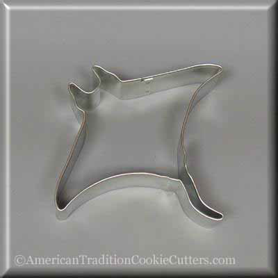 "4.5 ""Manta Ray Metal Cookie Cutter-američkiantraditioncookiecutters"