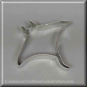 "4.5"" Manta Ray Metal Cookie Cutter-americantraditioncookiecutters"