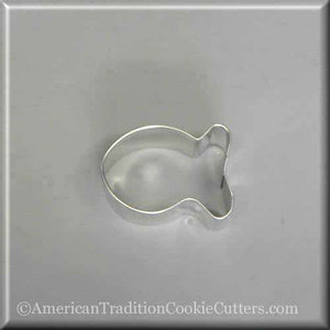 "2"" Fish Metal Cookie Cutter - American Tradition Cookie Cutters"