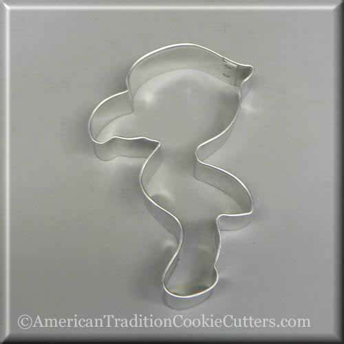 "4"" Cartoon Flamingo Metal Cookie Cutter - American Tradition Cookie Cutters"