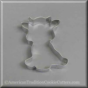 "4"" Cow Metal Cookie Cutter-americantraditioncookiecutters"