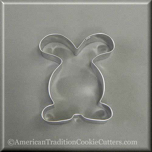 "4"" Easter Bunny Rabbit Metal Cookie Cutter-americantraditioncookiecutters"