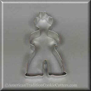 "4"" Farmer Cowboy Metal Cookie Cutter-americantraditioncookiecutters"