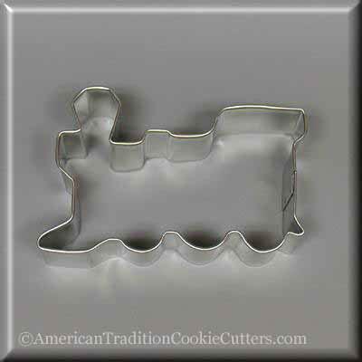 "3.75"" Locomotive Metal Cookie Cutter"