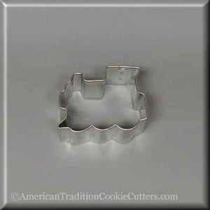 "2"" Mini Locomotive Metal Cookie Cutter - American Tradition Cookie Cutters"